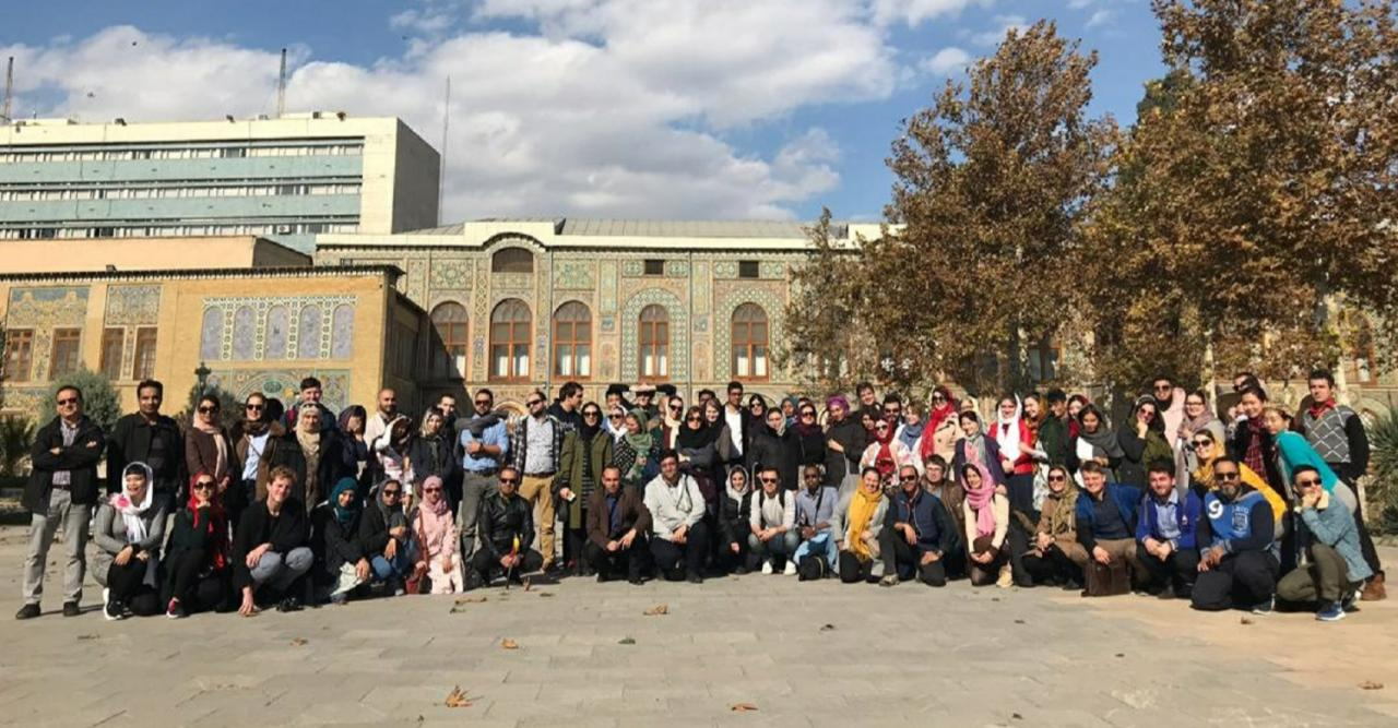 At the forefront of youth events in Iran